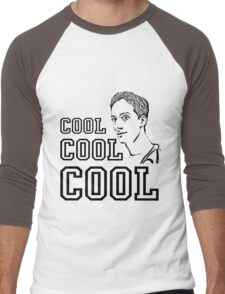 Community - Abed (Cool Cool Cool) Men's Baseball ¾ T-Shirt