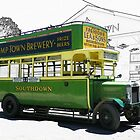 Southdown Bus 1920's by hootonles