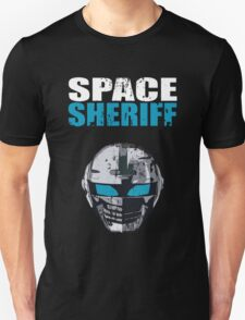 Space Sheriff - Distressed Unisex T-Shirt