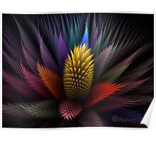 Spiky Botanical Poster