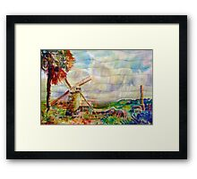 Morgan Lewis Windmill, Barbados Framed Print