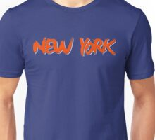 New York: Royal Unisex T-Shirt