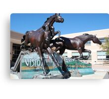 Wild Horse -- George W. Bush Senior Library Texas Station Canvas Print