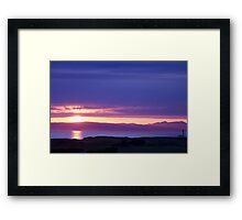 Scottish Sunset Framed Print