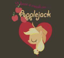 I have a crush on... Applejack - with text by Stinkehund