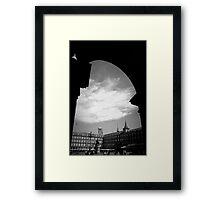 Plaza Mayor en Verano Framed Print