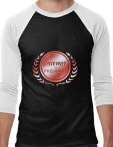Janeway for President Men's Baseball ¾ T-Shirt