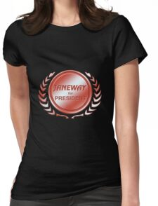 Janeway for President Womens Fitted T-Shirt