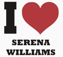 I love Serena Williams Kids Tee
