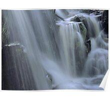 Waterfall Detail Poster