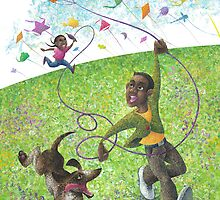 Katie and the Kite by Panagis