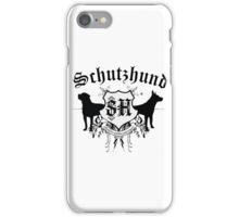 Schutzhund mit Rottweiler und GSD iPhone Case/Skin