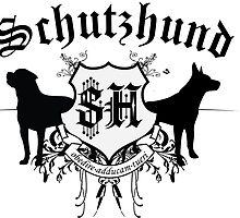 Schutzhund mit Rottweiler und GSD by Abbysinthe
