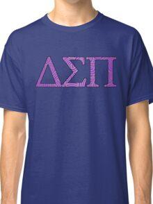 Delta Sigma Pi Purple Pattern Classic T-Shirt