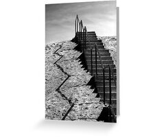 Stairway to the Clouds Greeting Card