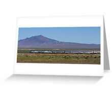 The California Zephyr Greeting Card