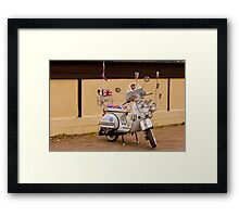 We are the mods! Framed Print