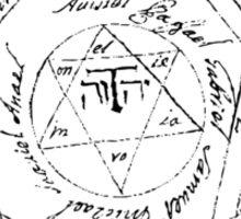 Key of Solomon Sticker