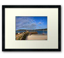 Douglas Quay & Braye - Aldeney Framed Print