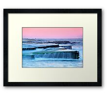 Turimetta Sunset Framed Print
