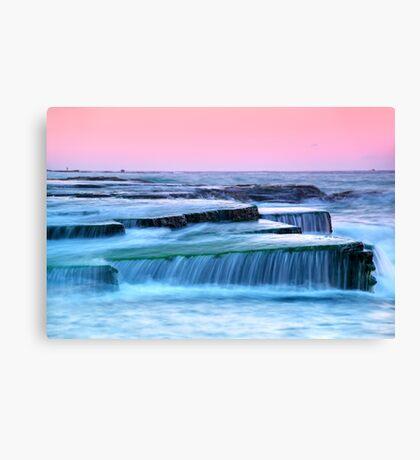 Turimetta Sunset Canvas Print
