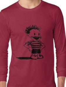Black Calvin Long Sleeve T-Shirt