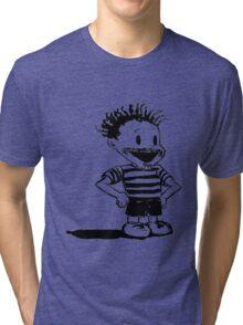 Black Calvin Tri-blend T-Shirt