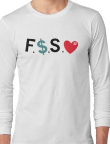 Official Fuck Money Spread Love - J.cole (Black) Long Sleeve T-Shirt