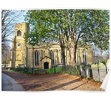 St Mary's Church, Walthamstow, E17 London Poster