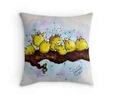 Fight for survival Throw Pillow
