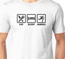 Eat sleep Hurdle Unisex T-Shirt