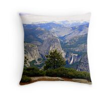 """Nevada Falls"" Throw Pillow"