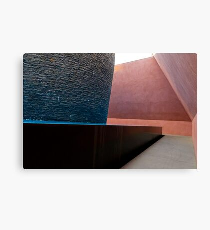 Within without sculpture interior Canvas Print