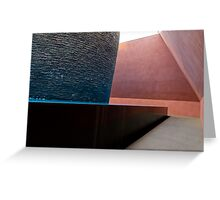 Within without sculpture interior Greeting Card