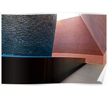Within without sculpture interior Poster