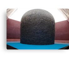 Within without sculpture centrepiece Canvas Print