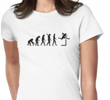 Evolution Hurdles Womens Fitted T-Shirt