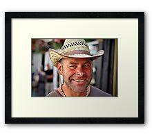 Portrait Of A Stranger: 6 Framed Print