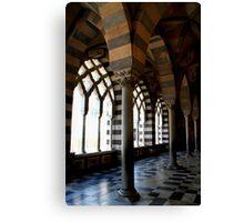 Arches in Amalfi Canvas Print