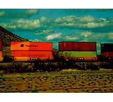 LOCOMOTION Photographic Print