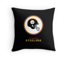 Go Steelers Throw Pillow