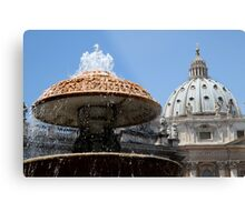 The Dome of St Peter's Metal Print
