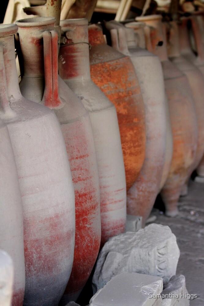 Amphorae - Pompeii by Samantha Higgs