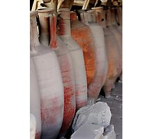 Amphorae - Pompeii Photographic Print