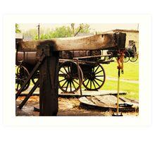 Fairbank Well (Petrolia Discovery) Art Print
