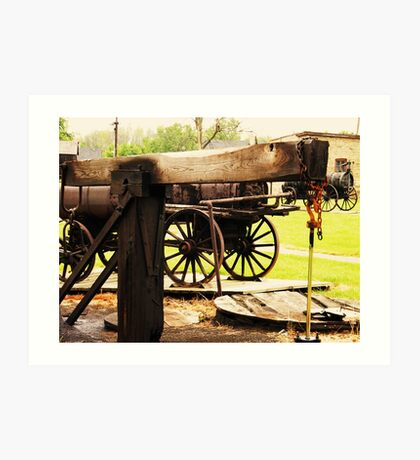 Fairbank Well (Petrolia Discovery) Art Print