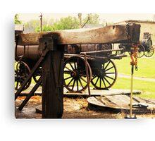 Fairbank Well (Petrolia Discovery) Metal Print