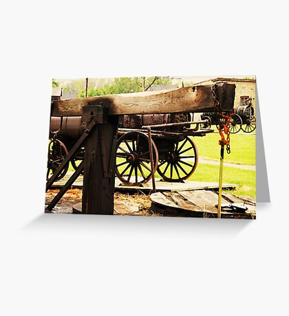 Fairbank Well (Petrolia Discovery) Greeting Card