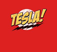 Tesla! (Distressed) Unisex T-Shirt
