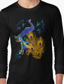 Three Feathers and a Peacock T-Shirt